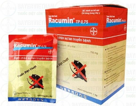 Tiêu diệt chuột tận gốc bằng thuốc diệt chuột Racumin